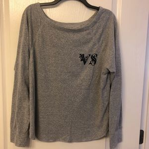 VS slouchy gray top